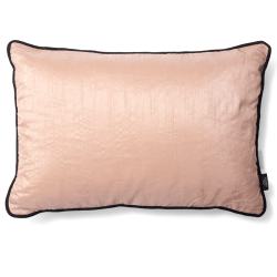 CUSHION COVER SILKY 40X60 RUGBY TAN
