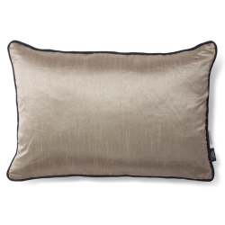 CUSHION COVER SILKY 40X60 SIMPLY TAUPE