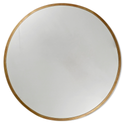 Spegel rund mässing moon classic collection brass